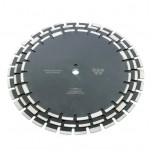 Алмазный сегментный круг Diamaster 450*3,2*10,0*25,4 (Асфальт, свежий бетон, пенобетон, шамотный или силикатный кирпич)