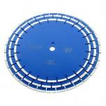 Алмазный сегментный круг Diamaster 450*3,6*10,0*25,4 (Армированный бетон, тротуарная плитка, твердые огнеупоры)