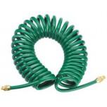 Шланг спиральный для пневмоинструмента, 5 мм х 12 мм х 13 м