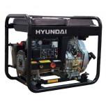 Сварочный генератор дизельный Hyundai DHYW 190AC, 5 кВт, 230 В, 190 А, 4 мм.