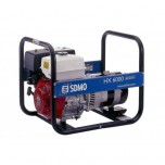 Генератор бензиновый SDMO HX 6000 S, 6 кВт